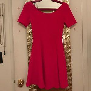 HOT Pink short sleeve dress