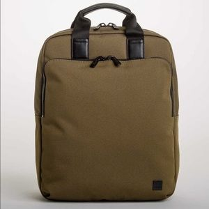 New Knomo London James 15 inch backpack in Army