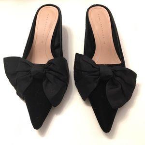 Zara Kitten Heel Miles with Bow