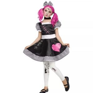 costumes broken sassy doll girls halloween costume small