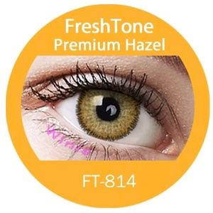Freshtone Premium Hazel Eye Color with FREE Case..