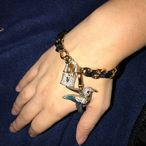 Juicy couture chain bracelet!