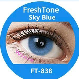 Freshtone Sky Blue Eye Color with FREE Case..