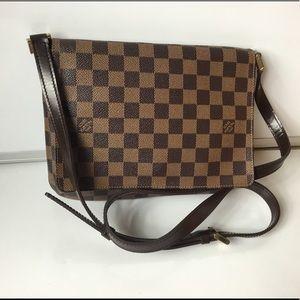 100% Authentic Louis Vuitton Damier  Musette Tango