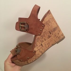 Missimo supply co. Wedges- only worn once