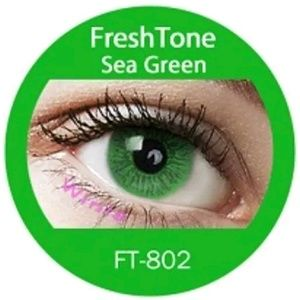 Freshtone See Green Eye Color with FREE Case..