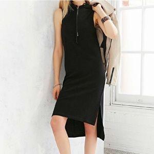 Pins and Needles Tessa Hooded Midi Dress Size XS