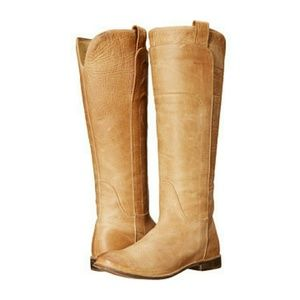 NWT TALL FRYE RIDING BOOT SADDLE 11