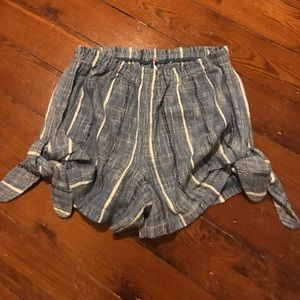 Free people woven shorts