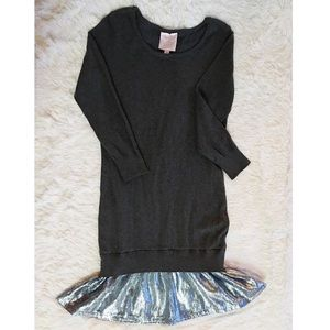 Romeo & Juliet Couture Grey Knit Dress M 👗