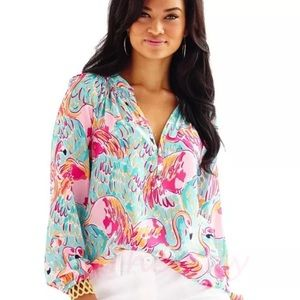 NWT Lilly pulitzer Elsa in multi peel and eat xxs