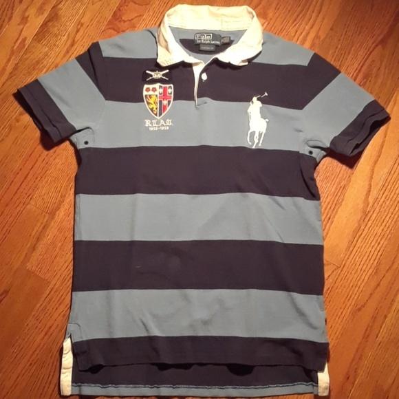 b7610e559 Vintage Polo Ralph Lauren Big Custom Fit Rugby. M_59c1c531c28456eac1036d4c