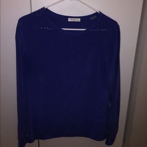 Silk Equipment blouse - never been worn!!! XS blue