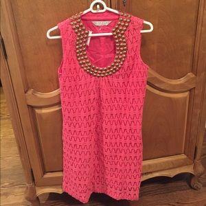 Trina Turk Dress. Pink. Size 6