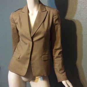 TTahari khaki jacket