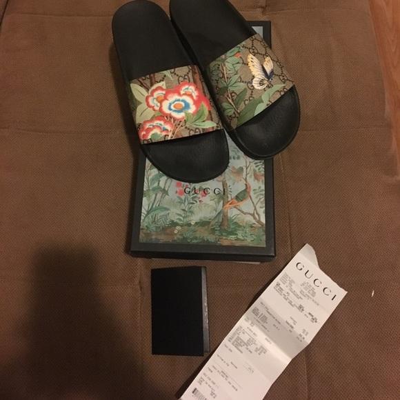 c6d990f3a Gucci Shoes | Slides | Poshmark