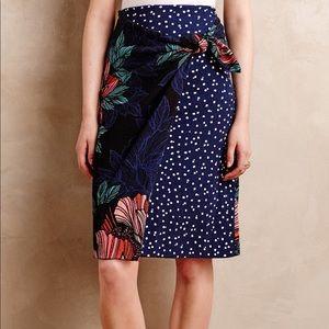 Anthropologie Wrap Skirt