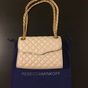 Rebecca Minkoff quilted affair (nude)