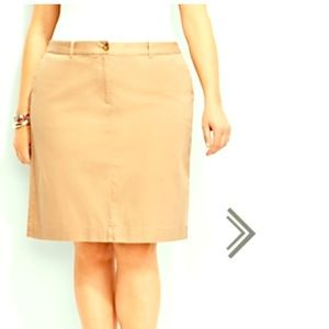 Tommy Hilfiger plus size skirt