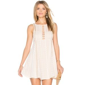 JUST IN Free People Wherever You Go Mini Dress