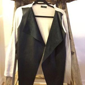 Black and Tan Zara Jacket