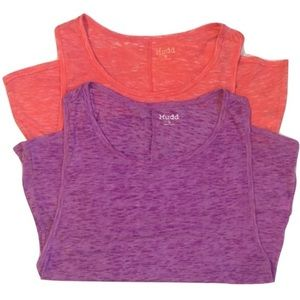 3 for $18 Mudd Burnout Tanks bundle of 2