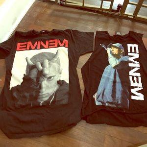 Eminem lot shirts.
