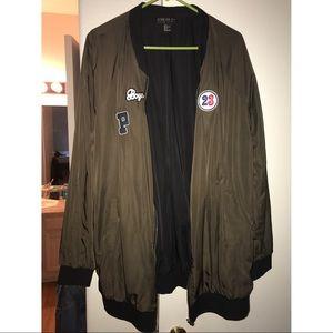 Over sized Bomber Jacket