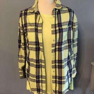 Tops - Medium flannel