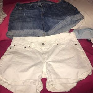 Bundle of Old Navy and Levi  Strauss Denim Shorts!