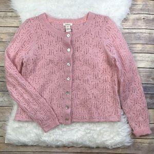 Sundance Mohair La Rosa Cardigan Sweater