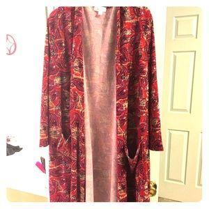 Lularoe Size XL Sarah duster cardigan