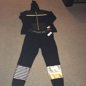 Material Girl fabulous size sweat suit