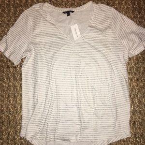 BANANA REPUBLIC cotton striped shirt