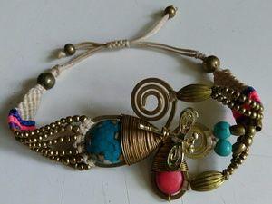 Hand-made bracelet, OSFA