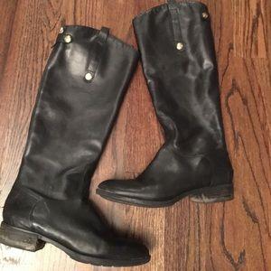Sam Edelman Tall Black Riding Boots 9