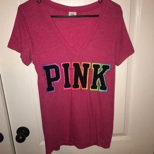 PINK V-NECK