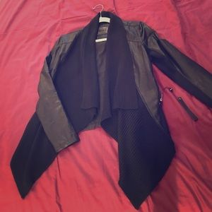 Blank NYC faux leather black jacket - brand new