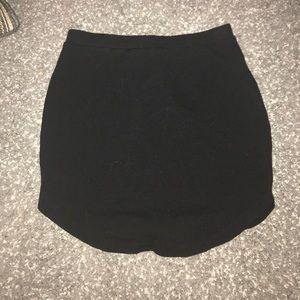 Black forever 21 mini skirt