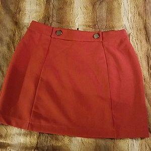 Mini skirt. Forever 21. Large
