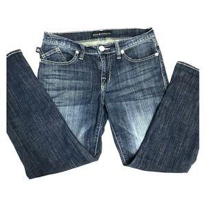 Rock & Republic Factory Destressed Kendall Jeans