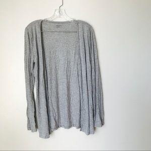 Gap body light grey cardigan