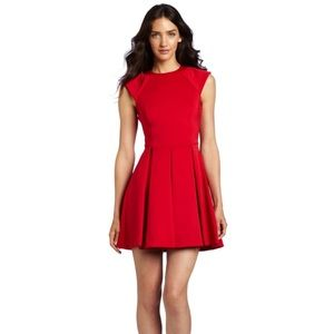 Ted Baker London Kipp Dress in Brick Red