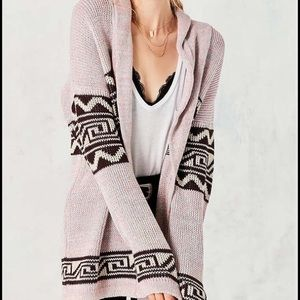 UO Shawl-Collar Open Cardigan / Knit Sweater *NWT*