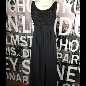 Betsey Johnson 100% Silk maxi dress