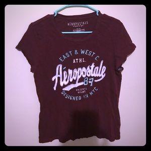 Maroon Aeropostale t shirt!