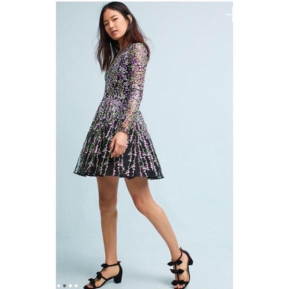 7efca0aa177 Badgley Mischka Arranmore Embroidered Dress