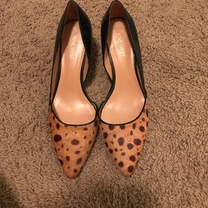 Cheetah and Black Heels