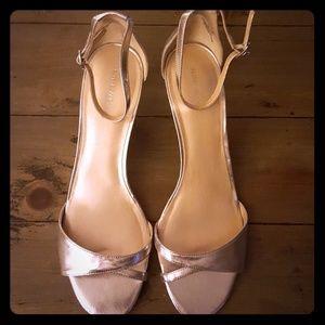 Nine West Silver Dress Shoes