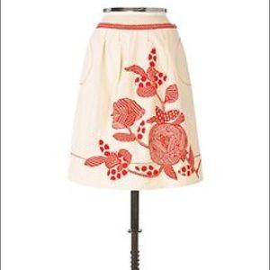 {Anthro} Yoana Baraschi Hybrid Perpetual Skirt